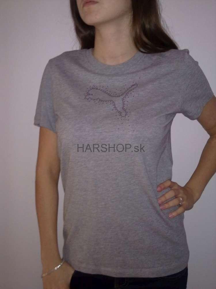 Dámske značkové tričko Puma 14ca3a4d37
