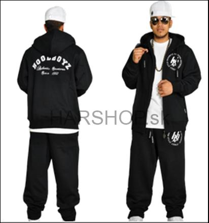 Značková hiphopová súprava Hoodboyz 40f505ae8a3