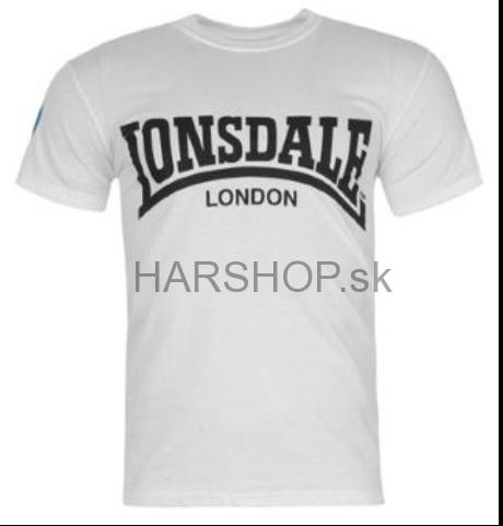 730ff1f015f1 Pánske značkové tričko Lonsdale