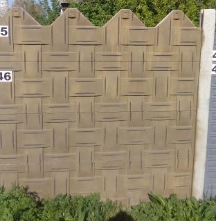 Betónové oplotenie